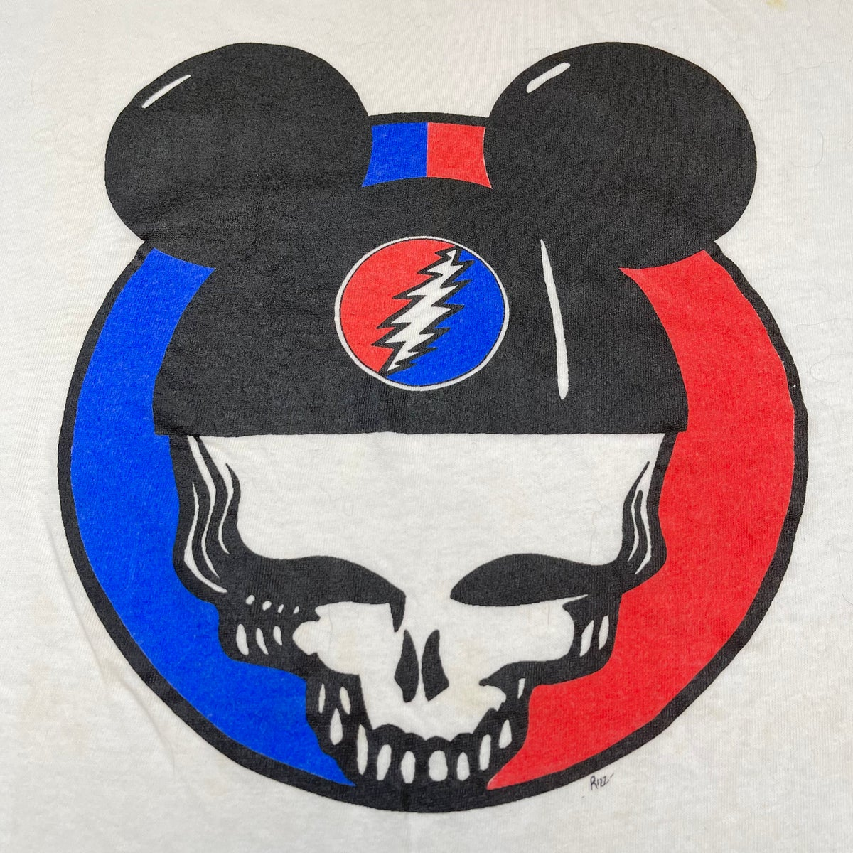 Original Vintage Grateful Dead 90's Mickey Mouse SYF Tee! - LARGE