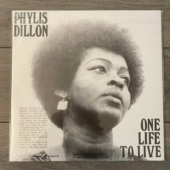 Image of Phyllis Dillon - One Life To Live Vinyl LP