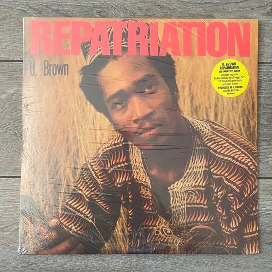 Image of U Brown - Repatriation Vinyl LP