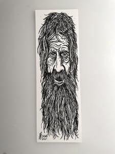 Image of Old Man Beardy Beard Doodle