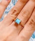 Lia - Labradorite Ring (Pre-order)