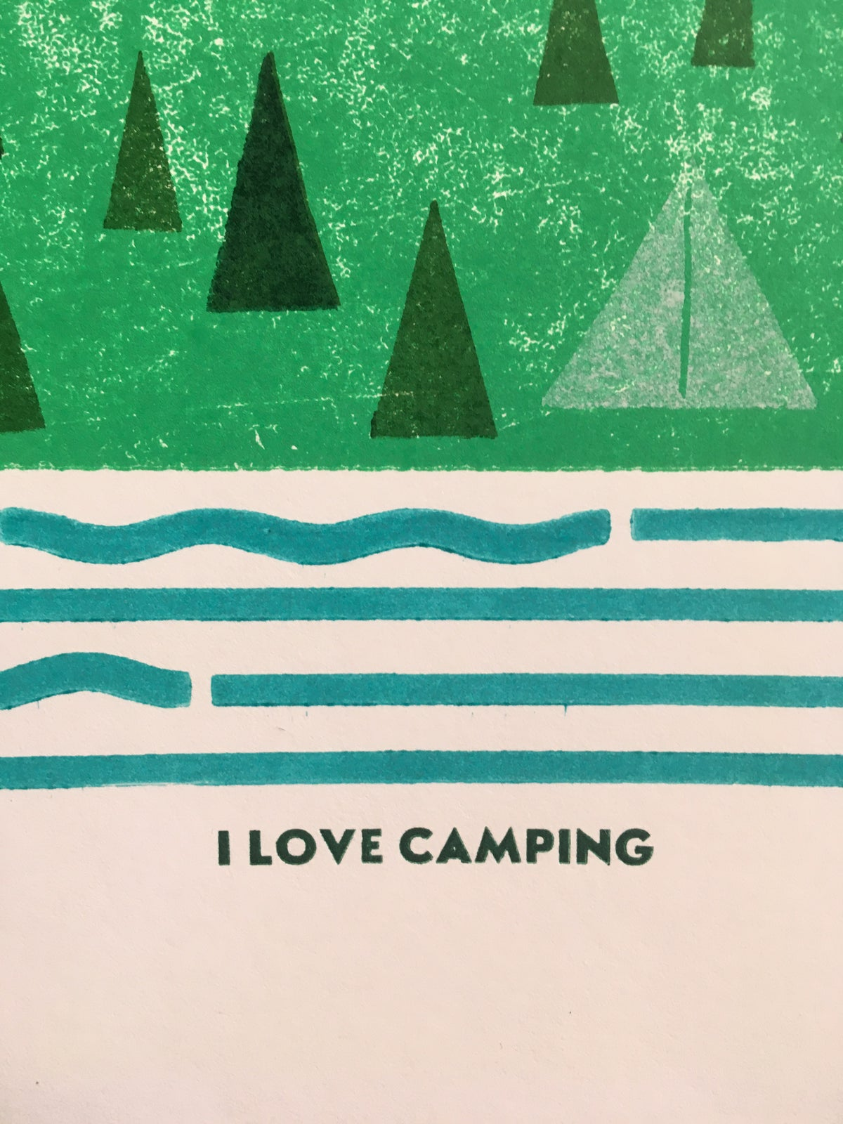 Image of I LOVE CAMPING