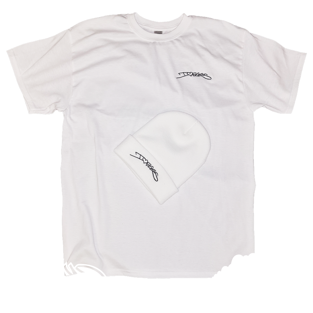 """SIKA X EGGS - """"I LOVE MULTISPLAT EGGS"""" LIMITED EDITION BEANIES AND T-SHIRT COMBOS (Including P+P)"""