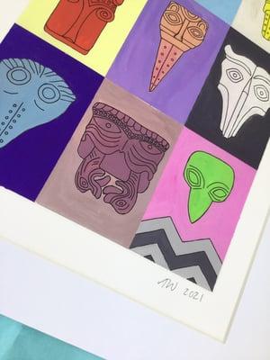 Beakheads Print