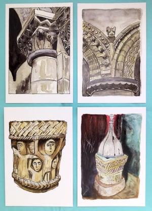 Southwest Romanesque Cards