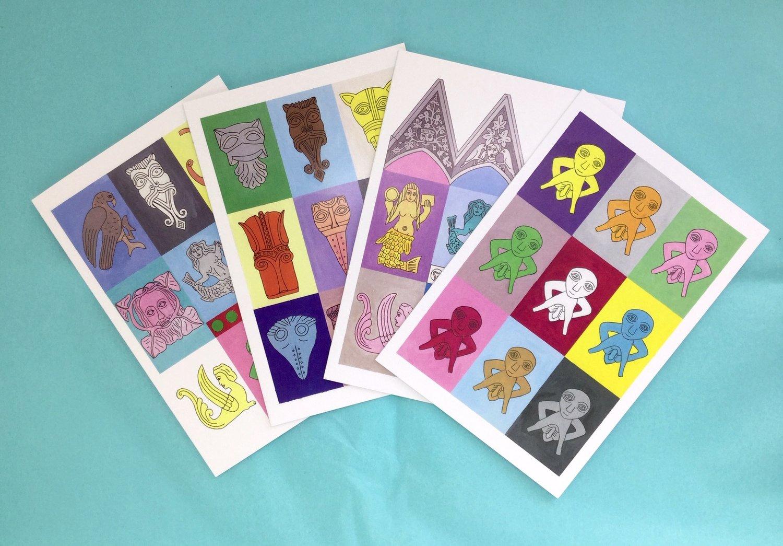 Medieval Modern Cards