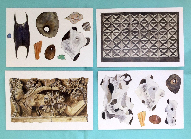 Stones & Sculpture Cards