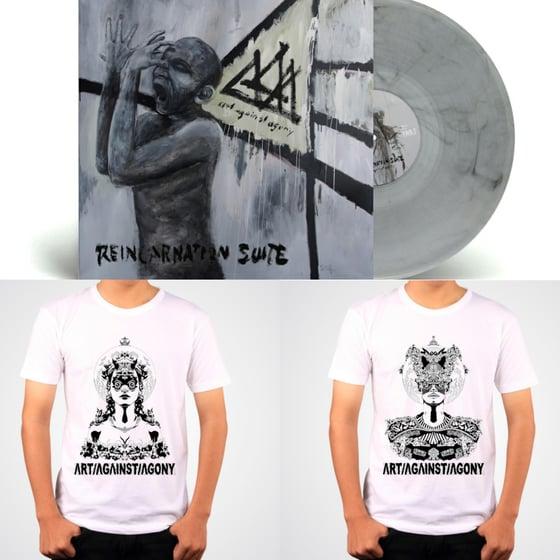Image of BUNDLE: Limited Tshirt + Reincarnation Vinyl
