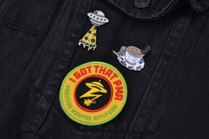 Image of I Got That PMA 6cm Embroidered Patch ⚡