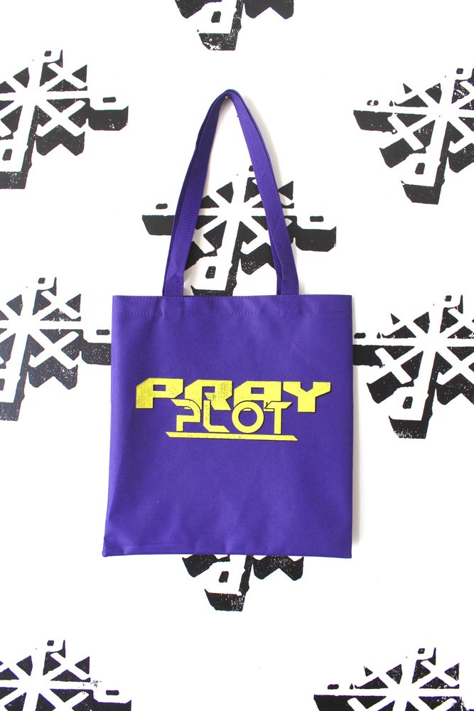 Image of the all the time tote bag in purple
