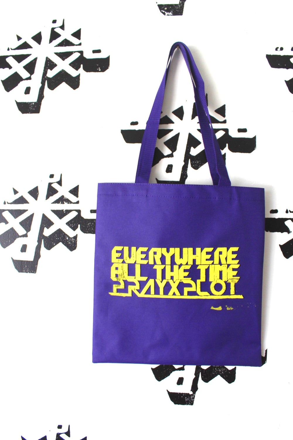 the all the time tote bag in purple