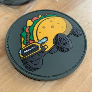 """Image of Taco Clout """"SCOUT"""" PVC Velcro Patch (Limited Run of 100)"""