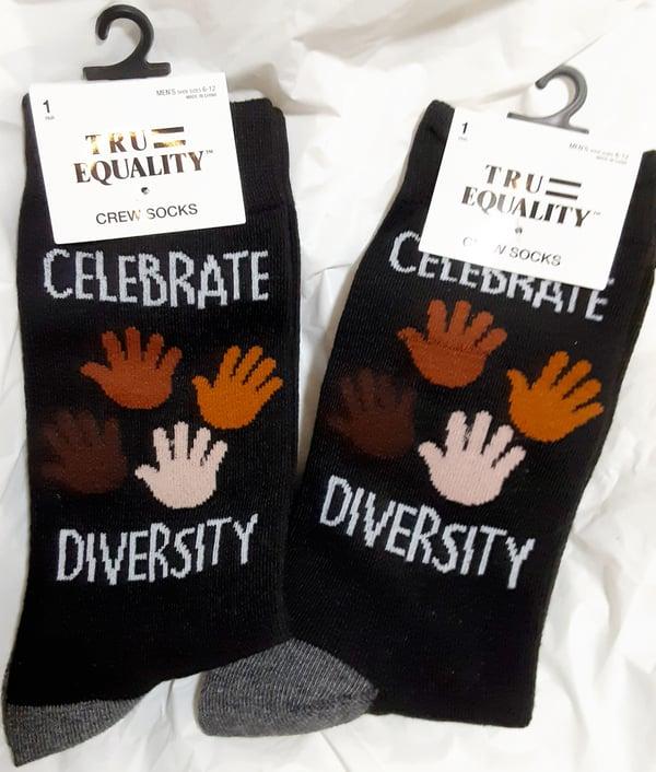 Image of  Tru Equality Crew Socks