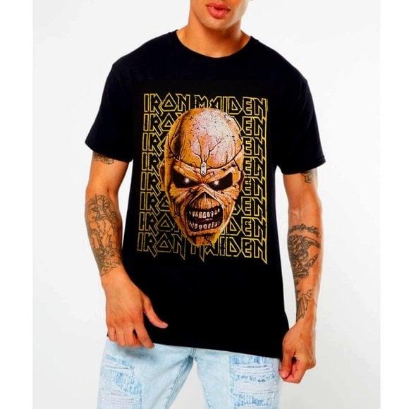 Iron Maiden Big Trooper Head T-SHIRT