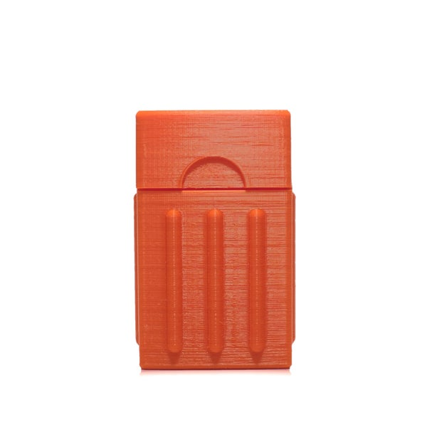 Image of SEWNSEWN - Cigg STL Box (Orange)
