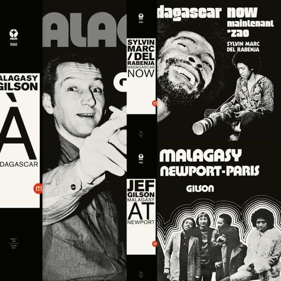 Image of Malagasy / Gilson + Sylvin Marc / Del Rabenja + Gilson LP Bundle