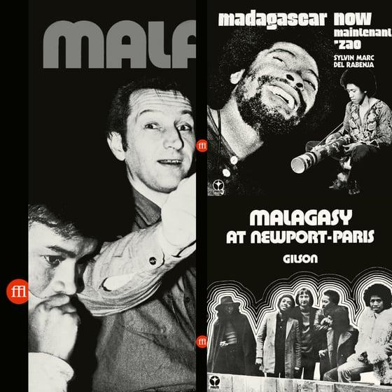 Image of Malagasy / Gilson + Sylvin Marc / Del Rabenja + Gilson CD Bundle
