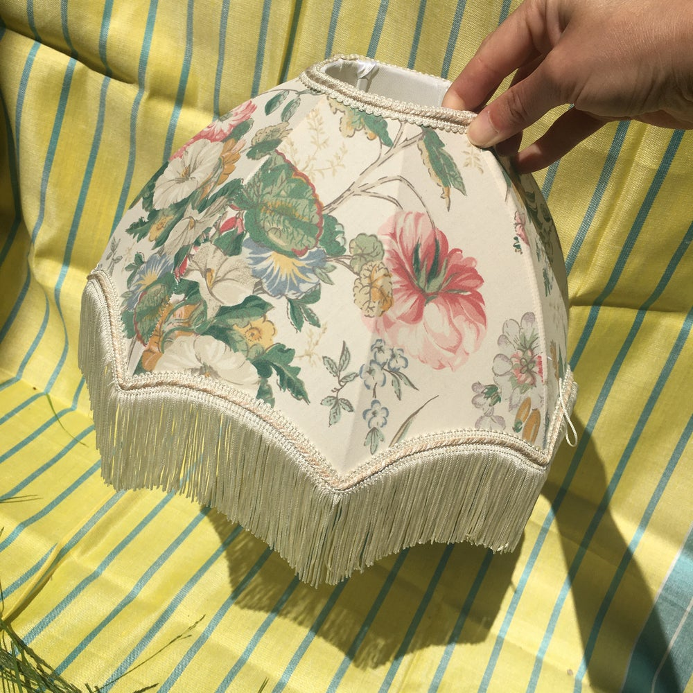 Image of Vintage lampshade