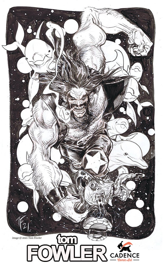 Image of Tom Fowler Commission (Mail Order) List Opens Tuesday 6/8 at 3PM EST
