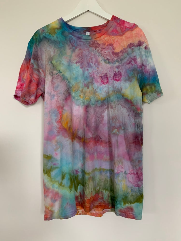 Image of Tie Dye 1 of 1 M (Hibiscus Lime)