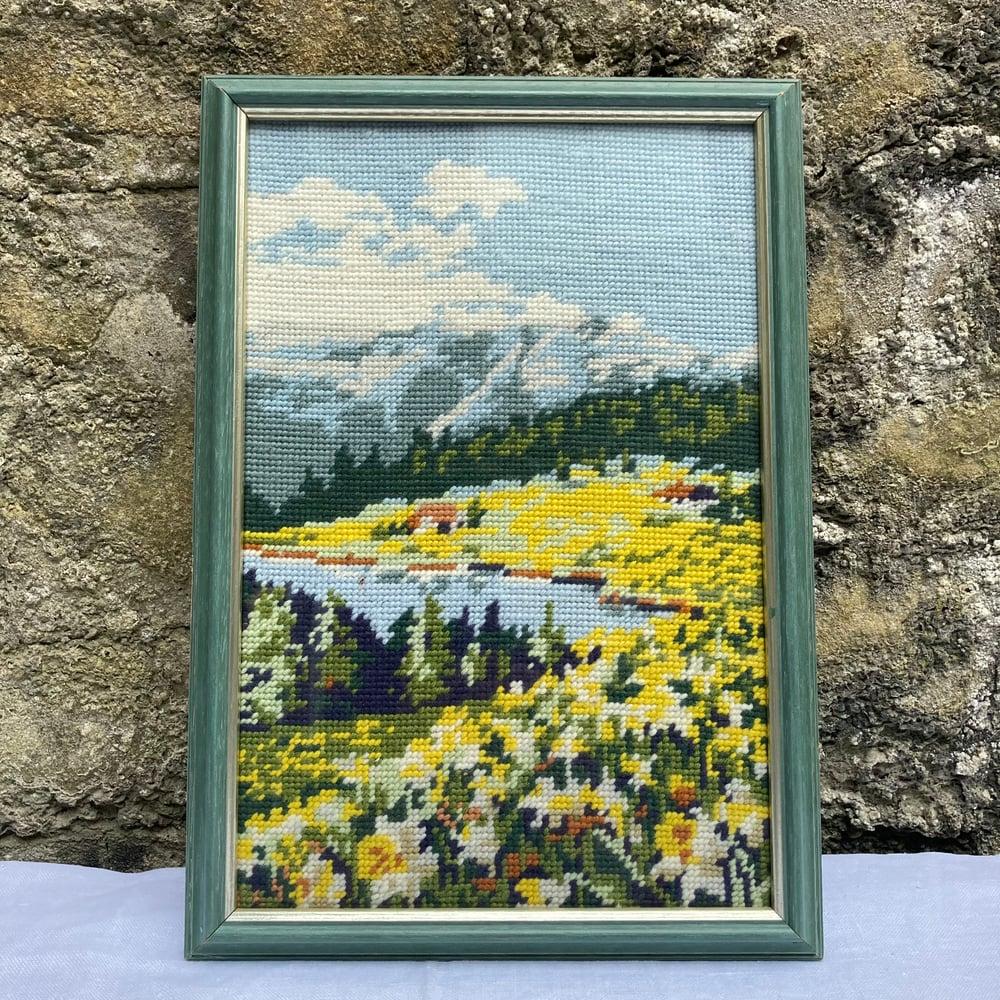 Image of Mountain needlepoint