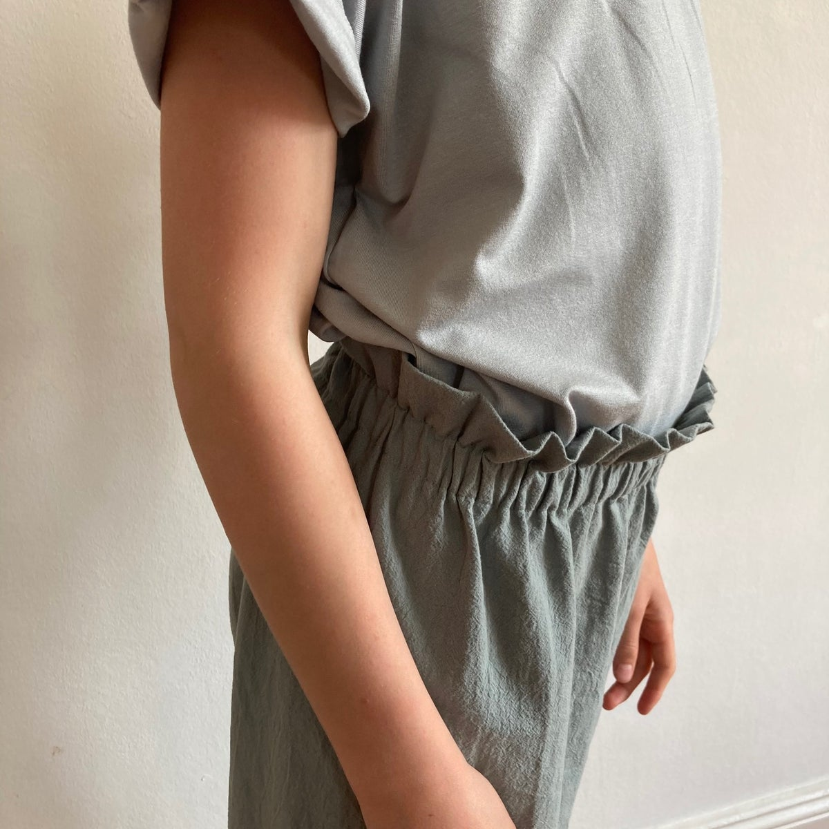 Culotte-old green