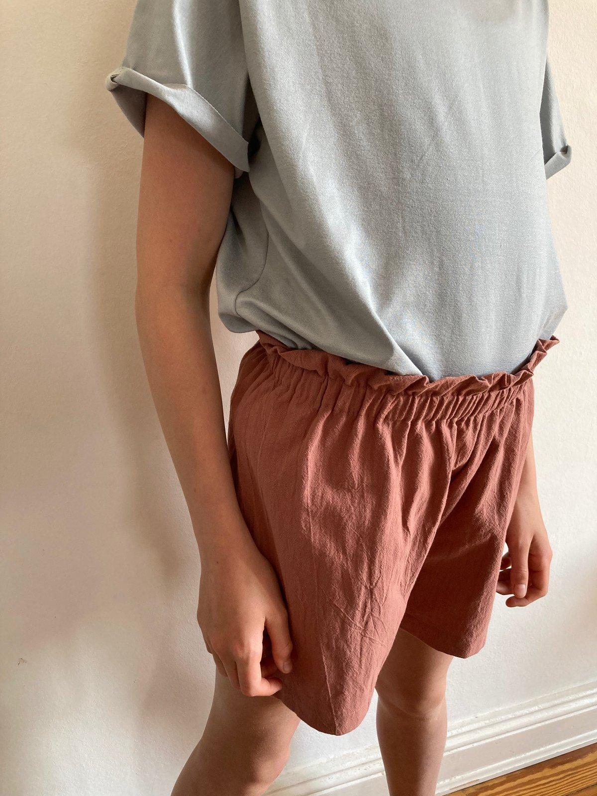 Summer Shorts-clay pink