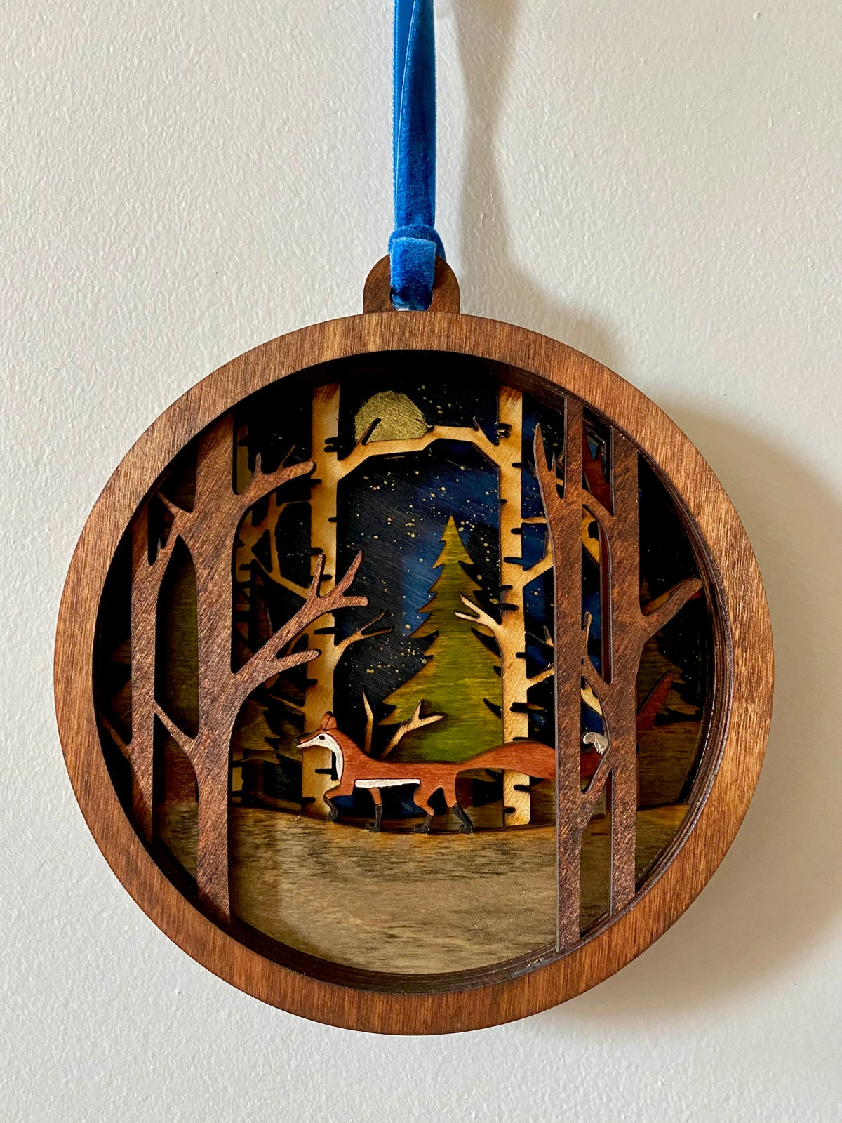 Image of 3D Woodland Wall Hanging