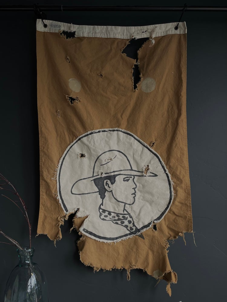 """Image of COWBOY """"ONE OF A KIND"""" FLAG"""