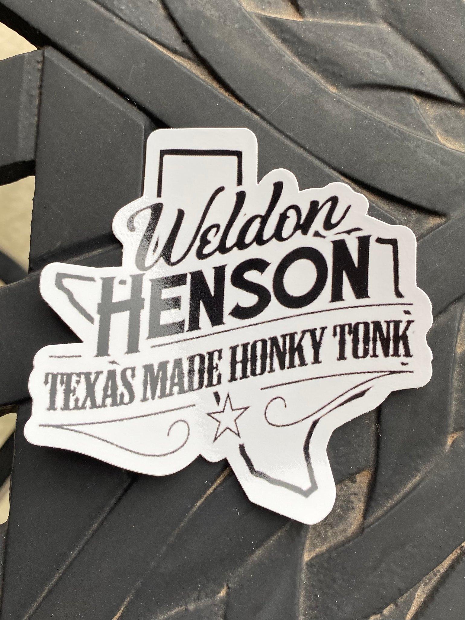 Image of Sticker - Texas Made Honky Tonk Logo