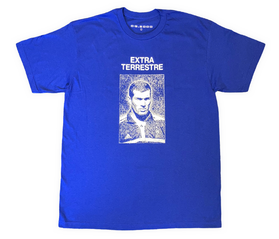 "Image of ""EXTRA TERRESTRE"" T-SHIRT *** ROYAL BLUE"