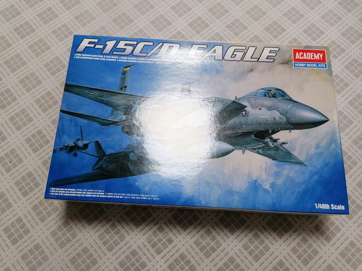Image of ACADEMY 1/48 F-15C/D EAGLE 1685
