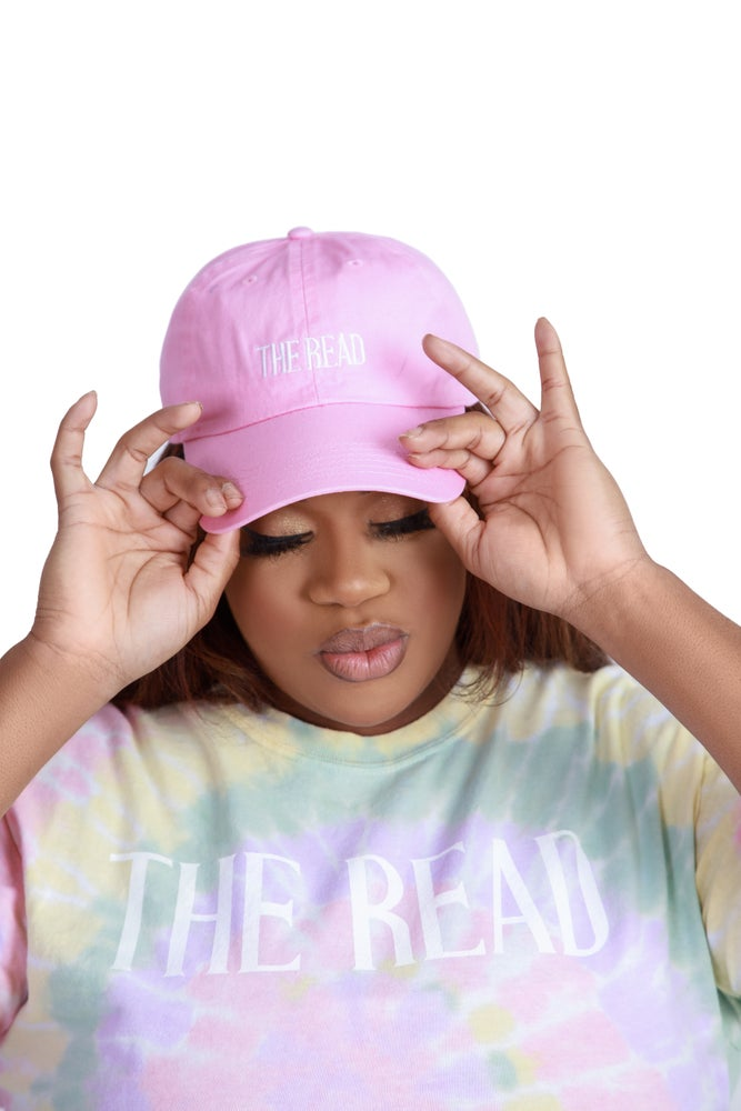 Image of The Read Pink Dad Hat
