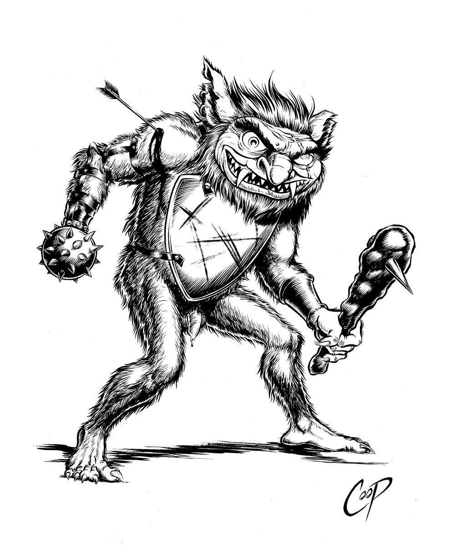 Image of BUGBEAR Original artwork
