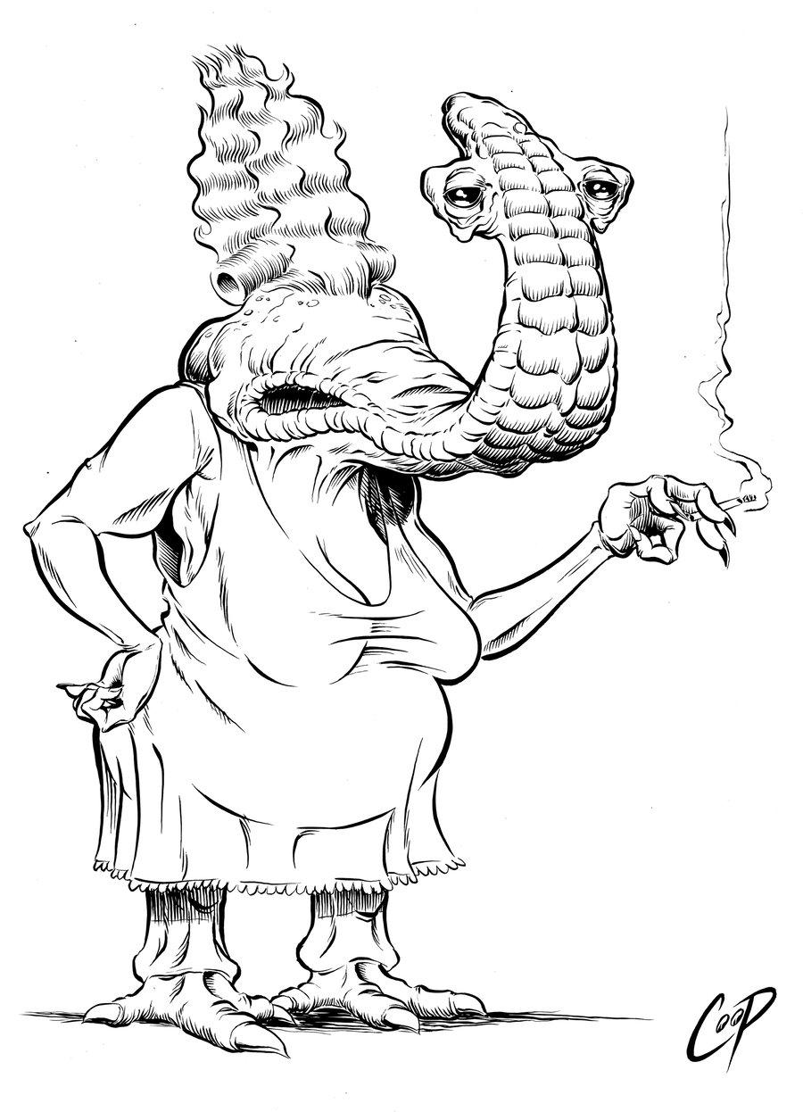 Image of MOMAW'S MEEMAW Original Art