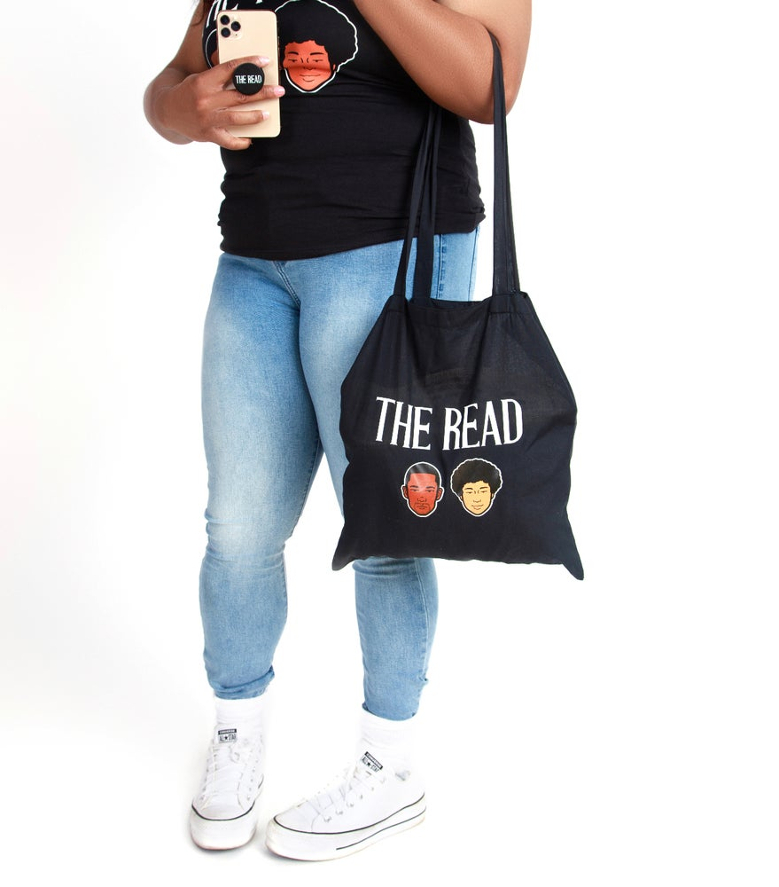 Image of The Read Black Tote Bag