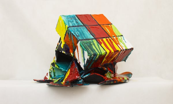 Image of Rubik's Cube / The Melted Cube