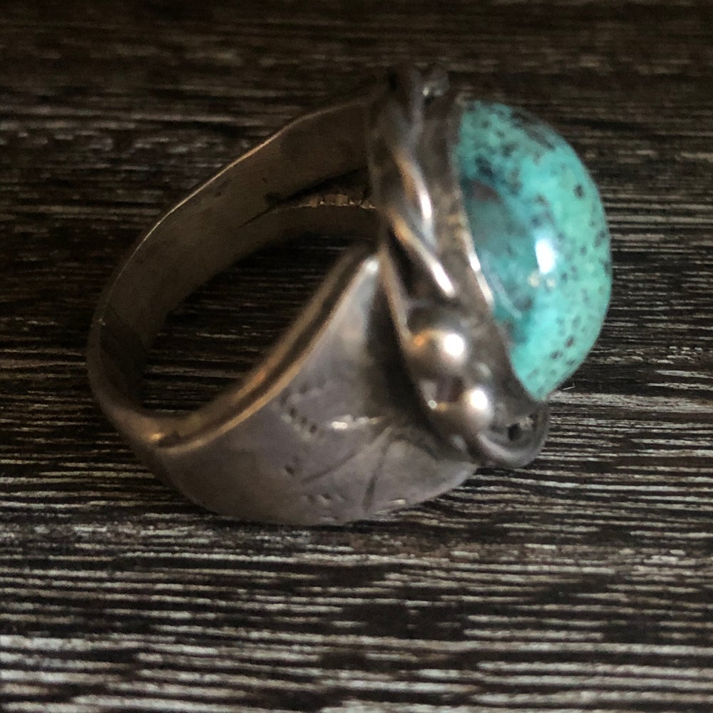 Sterling Robins Egg Turquoise Ring