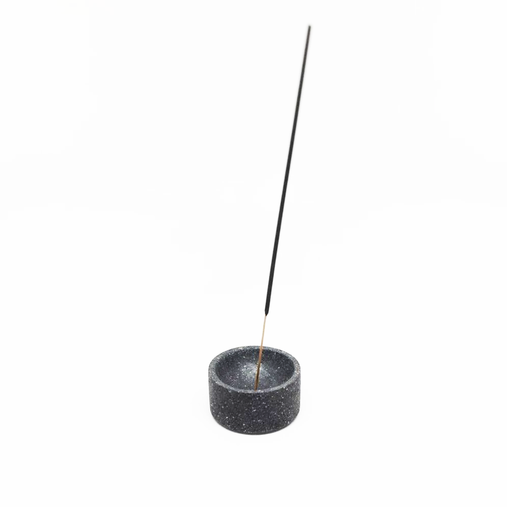 Image of Round Terrazzo Incense Holder