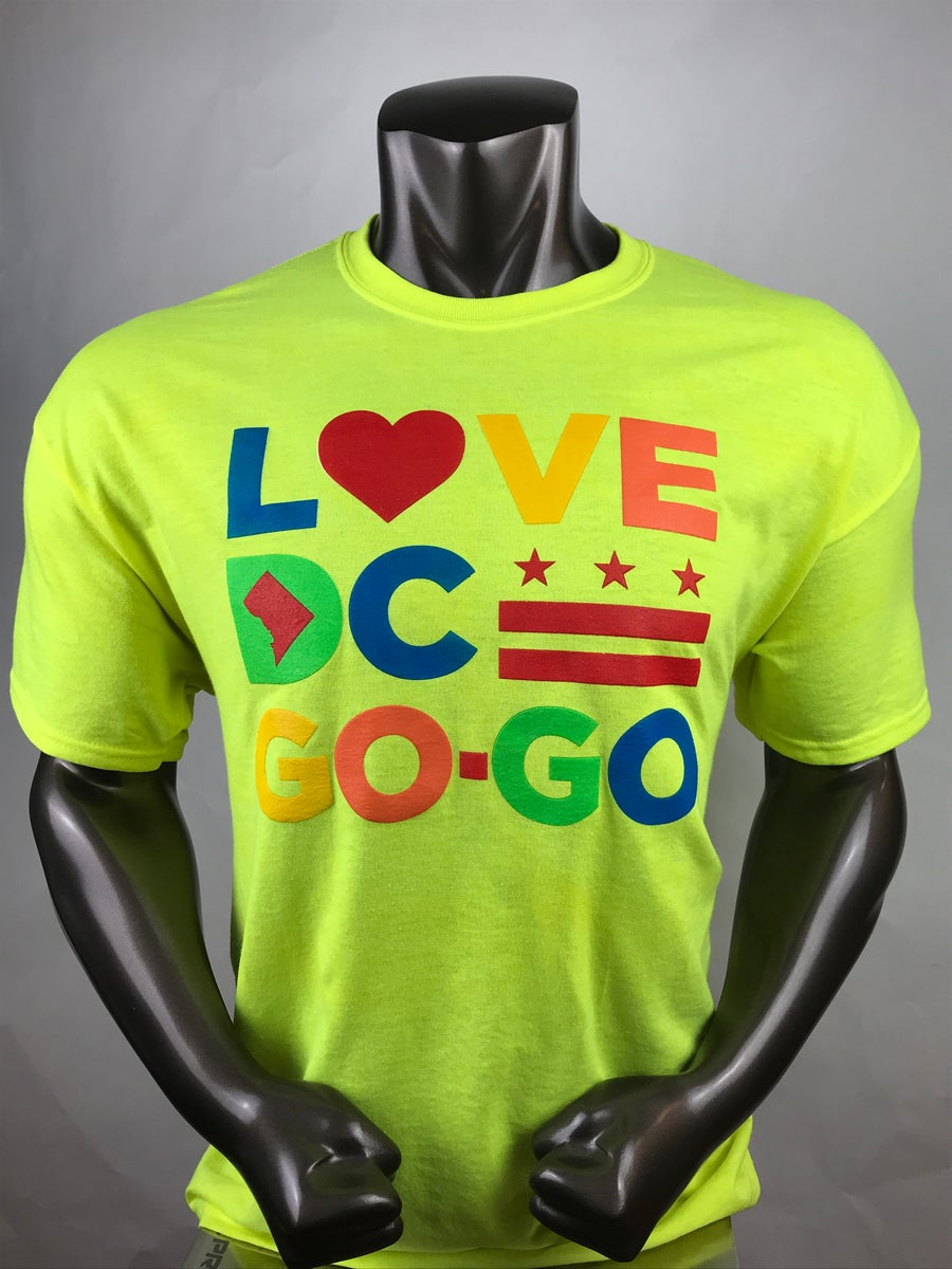 Image of Love DC GoGo - High Road T shirt