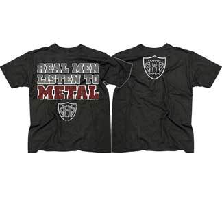 Image of Real Men Listen To Metal HATEWEAR Shirt
