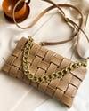 Fashion Clutch Purse (Khaki)