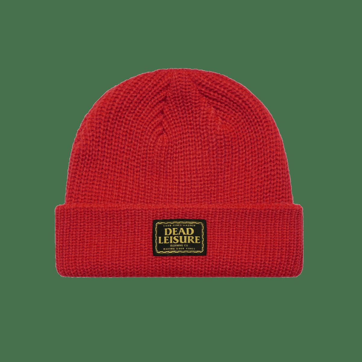 Good Times Logo Beanie - Red