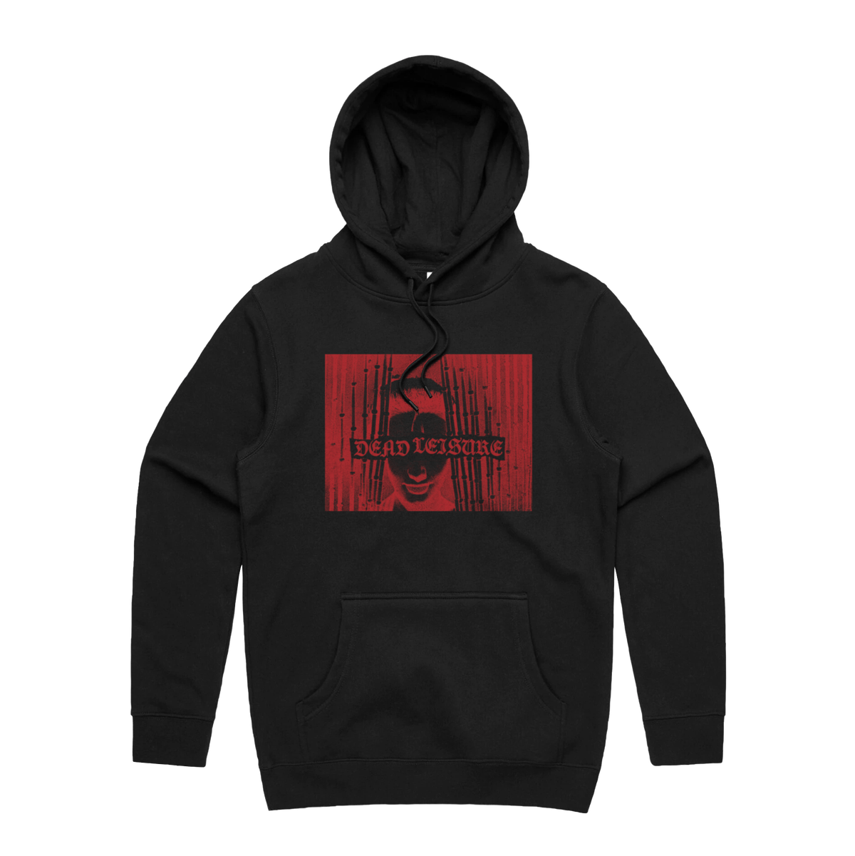 Strange Vision Pullover Hood - Black