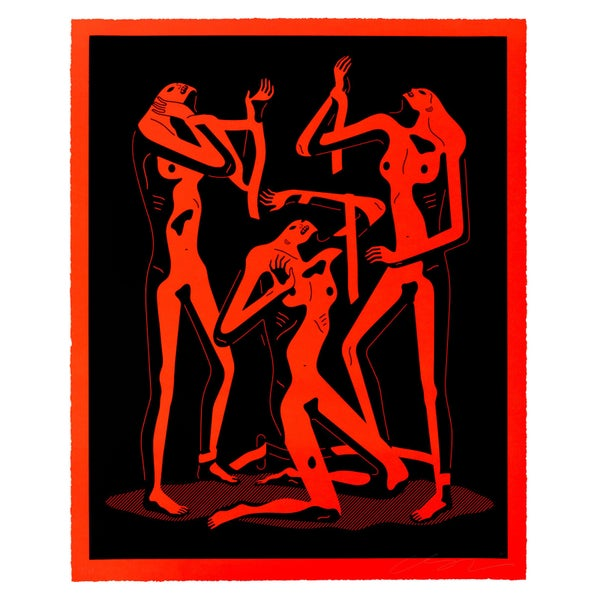Image of Cleon Peterson - Sirens (Red)
