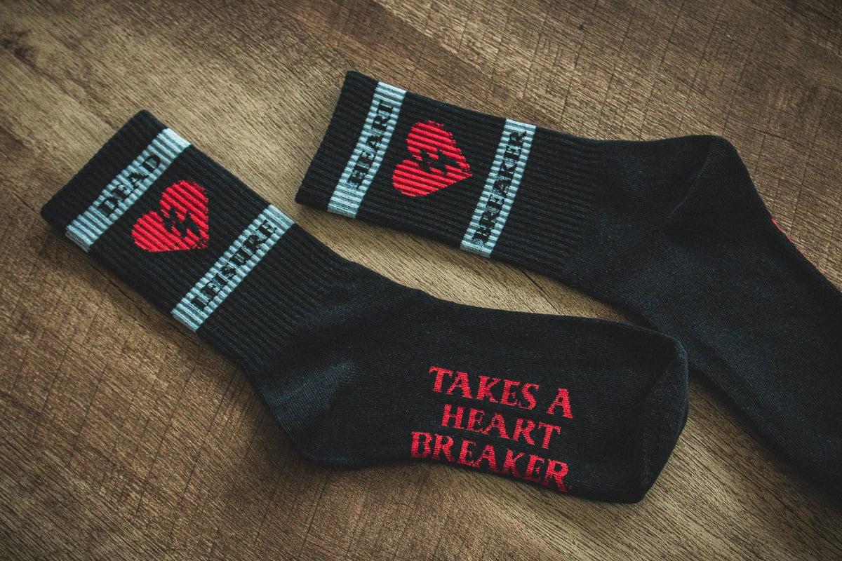 Dead Leisure Heart Breaker Socks