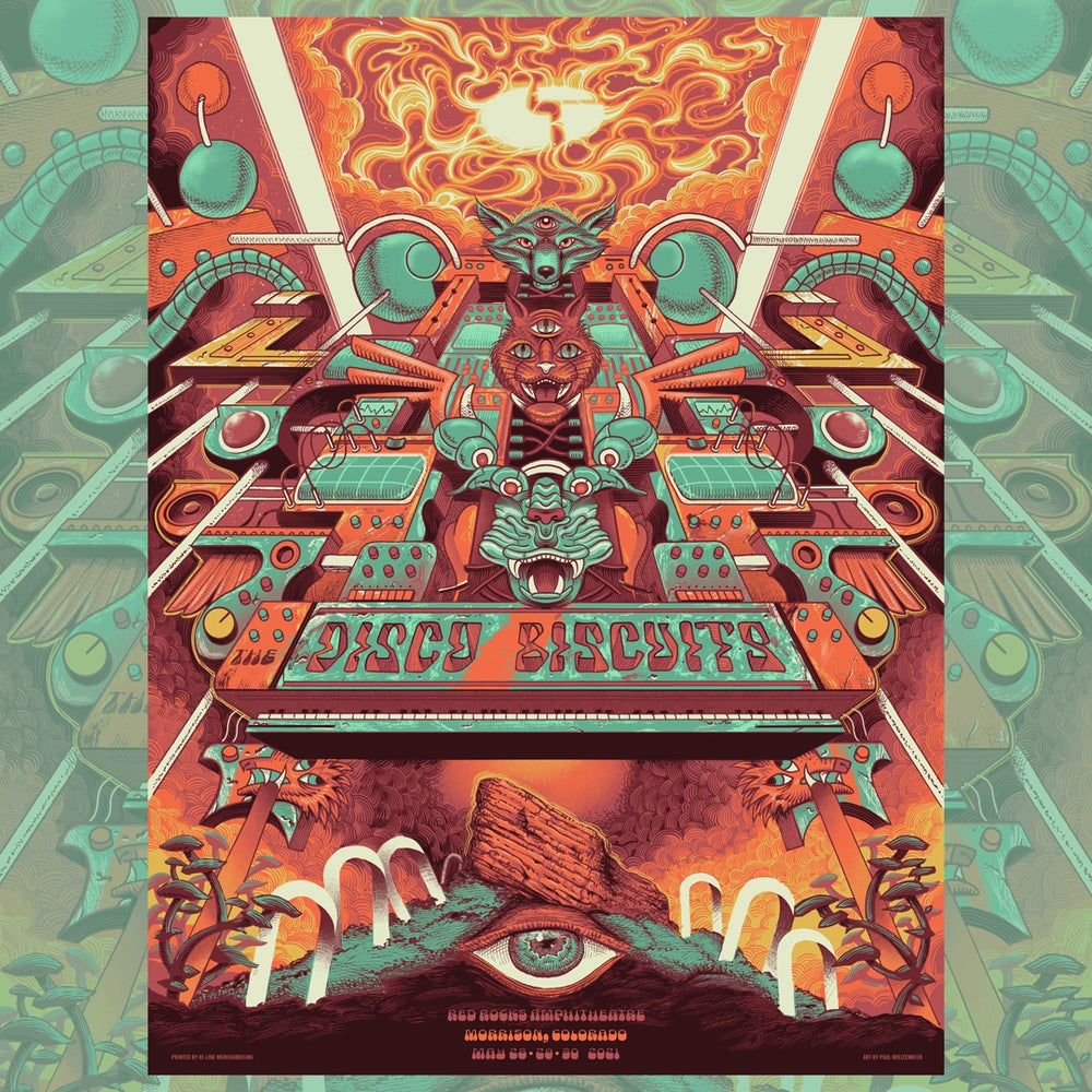 Image of Disco Biscuits Red Rocks May 2021