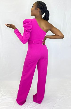 Image of Conservative Jumpsuit (Pink)