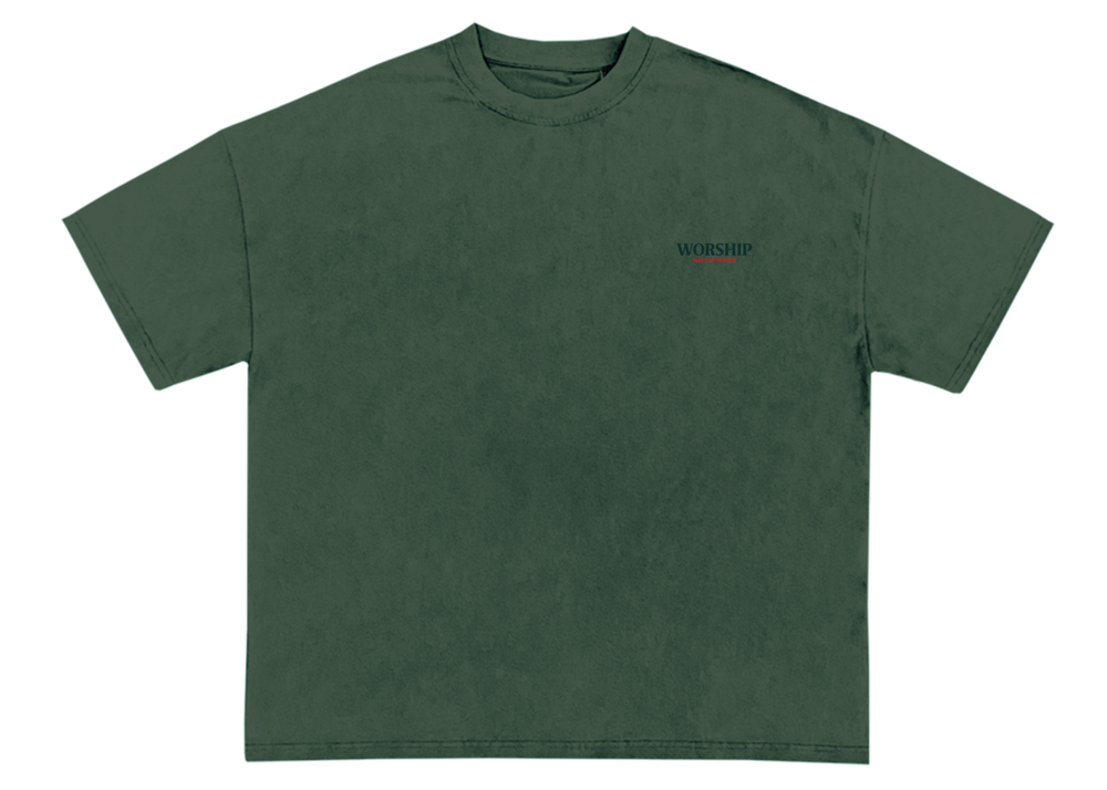 Image of Worship Signature T-Shirt (Forest Green)