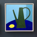 Image of Green Watering Can and Lemon
